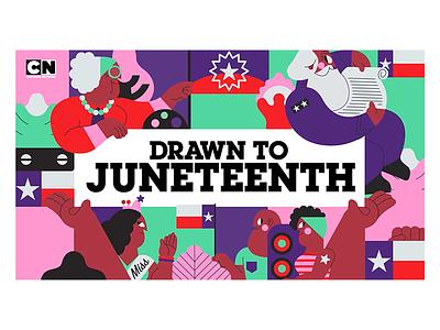 Drawn To: Juneteenth drawn to cartoon network jhonny núñez ilustración illustration