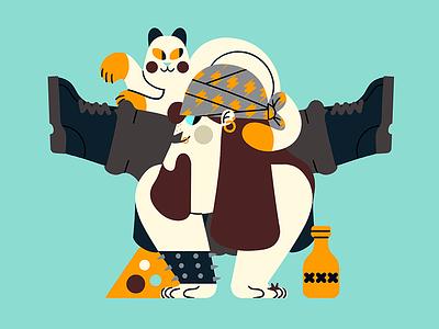 METAL-YOGA gato cat metalhead yoga heavy metal jhonny núñez ilustración illustration