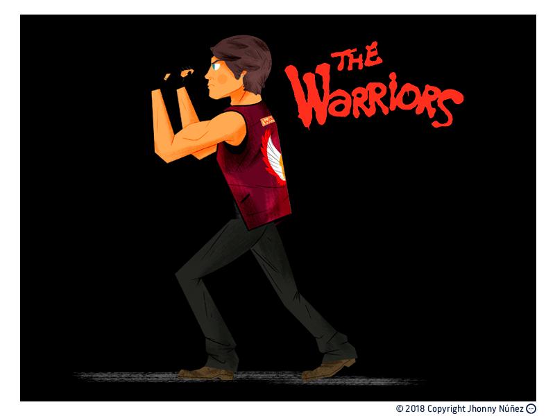 AJAX geek art geek arte warriors fan art character design movie the warriors