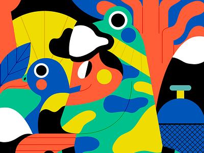 #PANTONERO 2020 - Nº6 jhonny núñez pantonero ilustración illustration