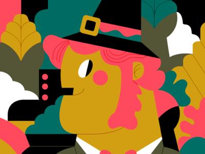 #PANTONERO 2020 - Nº 15 leprechaun illustration studio jhonny núñez ilustración illustration
