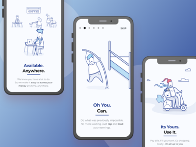 Onboarding and Welcome Screens for WIP App