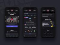 Gone Streakin: Responsive betting sportbook offers winner dark app dark ui bet cuber sports fantasy sports darkinterface cybersport gone streakin