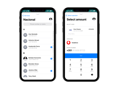 Newbank - Payments, iOS 11