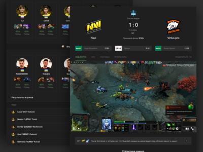 Scores24: Cybersport DOTA 2 Live match