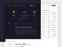Stavka TV: Match page