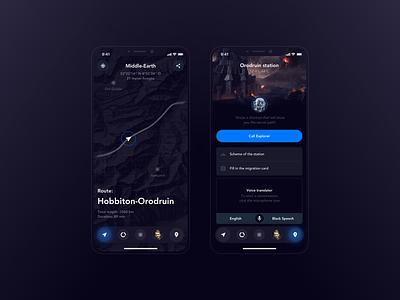 Middle-earth Hyperloop: Arriving screen arriving screen hyperloop one ios hyperloop stations taxi app route transport transport app hyperloop
