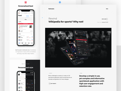 Case study: Rewind - Events, Bets, Chat bot cybersport football betting ai bots chat bot ios app rewind sportsbook bookmakers bets sport events casestudy cs
