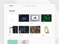 Flatstudio dashboard: Portfolio