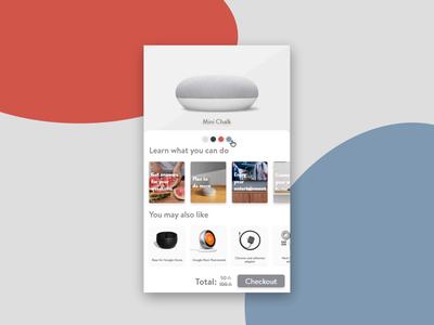 DailyUI #012 e-commerce single item design