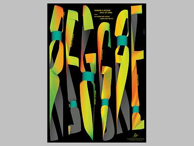 REGGAE graphic design poster design colours reggae poster