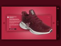 Adidas Web Page Concept 2