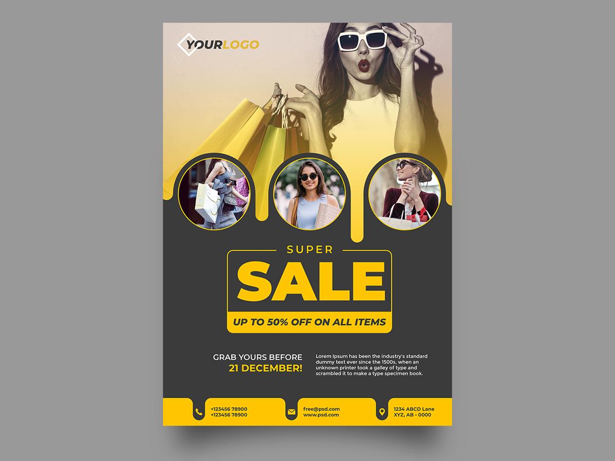 Fashion Summer Sale graphicdesign design flyers flyer design flyer