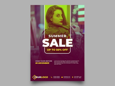 Summer Sale Fashion Flyer