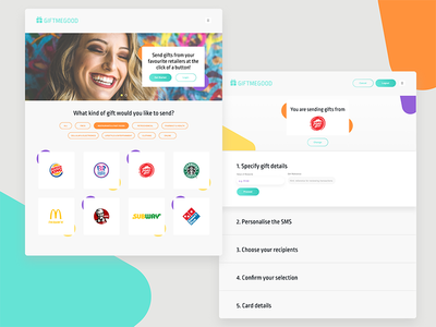 Voucher portal concept responsive design payment vouchers portal web design