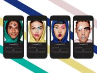 MAC makeup walkthrough concept