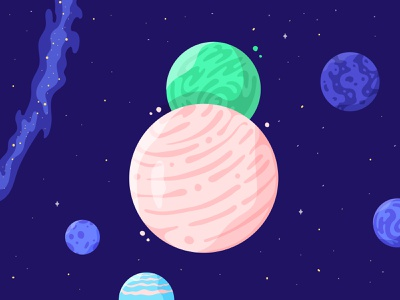 36 Days of Type - 8 36days-8 8 moon planet universe space stars 36daysoftype 36 days of type texture illustrator illustration type shadow colour vector light adventure sky galaxy