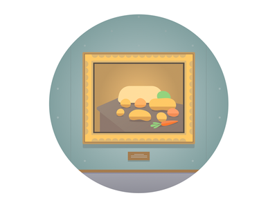 Still life illustrator flat illustration vector