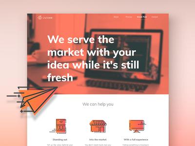 Juicee website