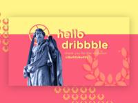 Hello Dribbble !