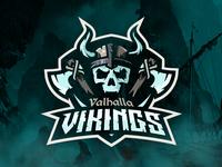 Valhalla Vikings Logo