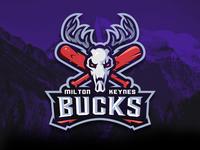Milton Keynes Bucks Baseball Logo