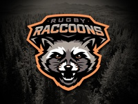 Rugby Racoons Logo