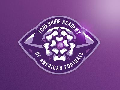 Yorkshire Academy of Football yorkshire rose sports ball nfl england football