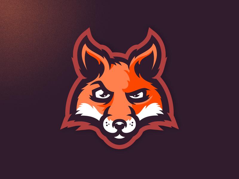 Crafty fox crocodile vector neon dog angry illustration branding mascot m7d skull american london illustrator grunge design football esports sports logo fox logo