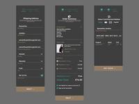 Checkout UI Design For Mobile