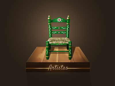 Flamenco Icon icons flamenco app spain artists chair
