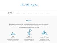 ICS icons & website