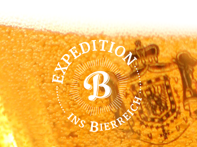 Expedition ins Bierreich, expedition ins bierreich beer expedition logo