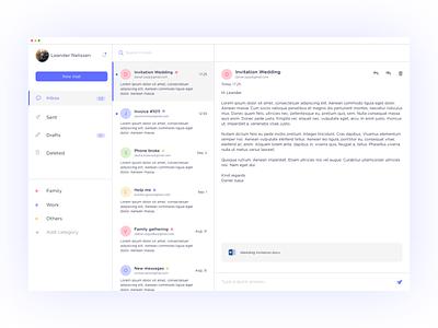 Mailbox mailbox mail ux uidesign ui iphone x invite app concept app