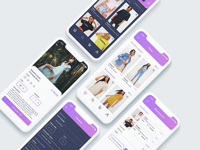 Online Shop e-commerce shop e-commerce app e-commerce webshop web ux uidesign ui iphone x invite app concept app