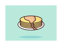 Pancake Illustration