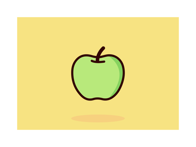 Apple Illustration breakfast vector illustration vector healthy food apple illustrations
