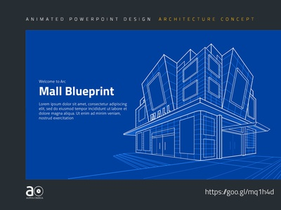 Arc Animated Presentation Template Building Blueprint