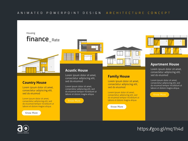 Arc Animated Presentation Template Housing Development By