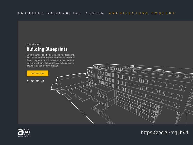 Architectural design blueprint Residential House Arc Animated Presentation Template Industry Building Blueprint Powerpoint Templates Powerpoint Template Architectural Powerpoint Presentation Architectural Otisunderskycom Arc Animated Presentation Template Industry Building Blueprint By