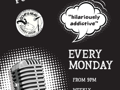Comedy Night Poster design