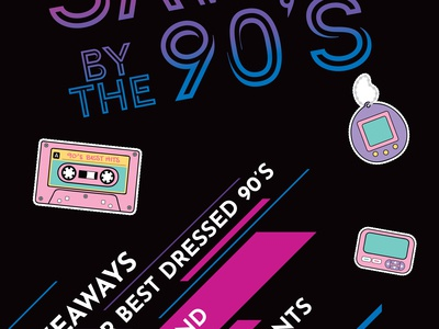 90's Throwback poster design