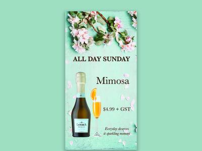 Wine feature card design