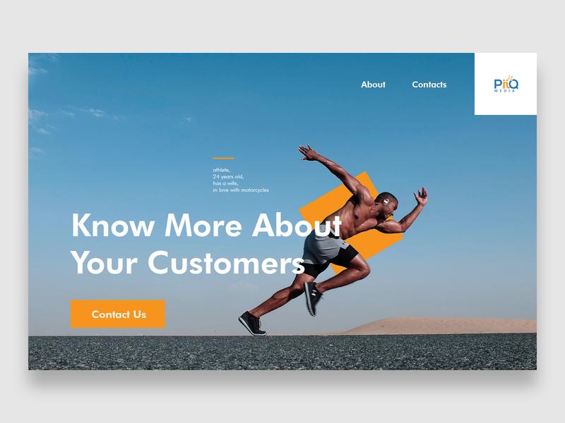 PiiQ Media ux challenge ux typography ui web flat