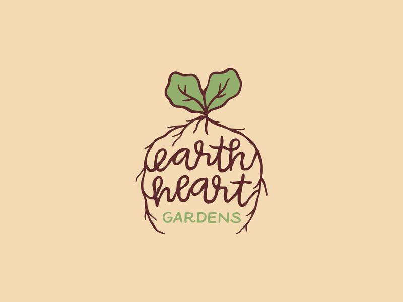 Earth Heart Gardens Logo