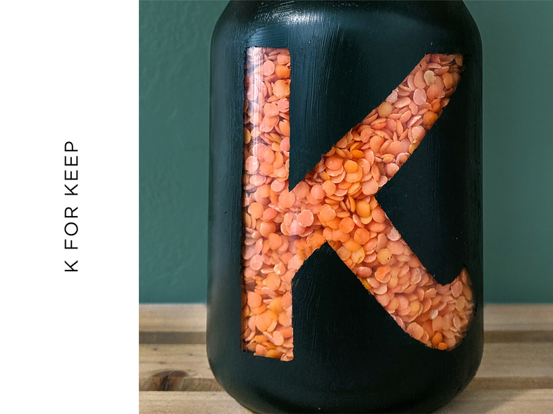 K for Keep