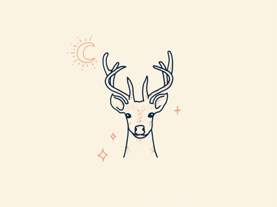 Tattoo Flash Deer