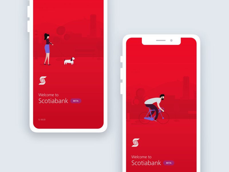 Scotiabank illustrations by Manuel Velasco on Dribbble