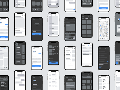 FUREMU - Wireframe That Make Your Ideas From 0 to 1 wireframes ios app mobile app design mobile app mobile ui store responsive profile clean ecommerce ux minimal ui