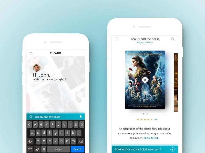 THEATRE – Movie Ticket App